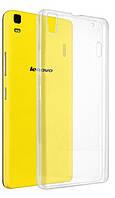 Прозрачный Slim чехол Lenovo A6000 (0,3 мм)