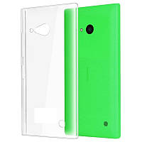 Прозрачный Slim чехол Nokia Lumia 530 (0,3 мм)