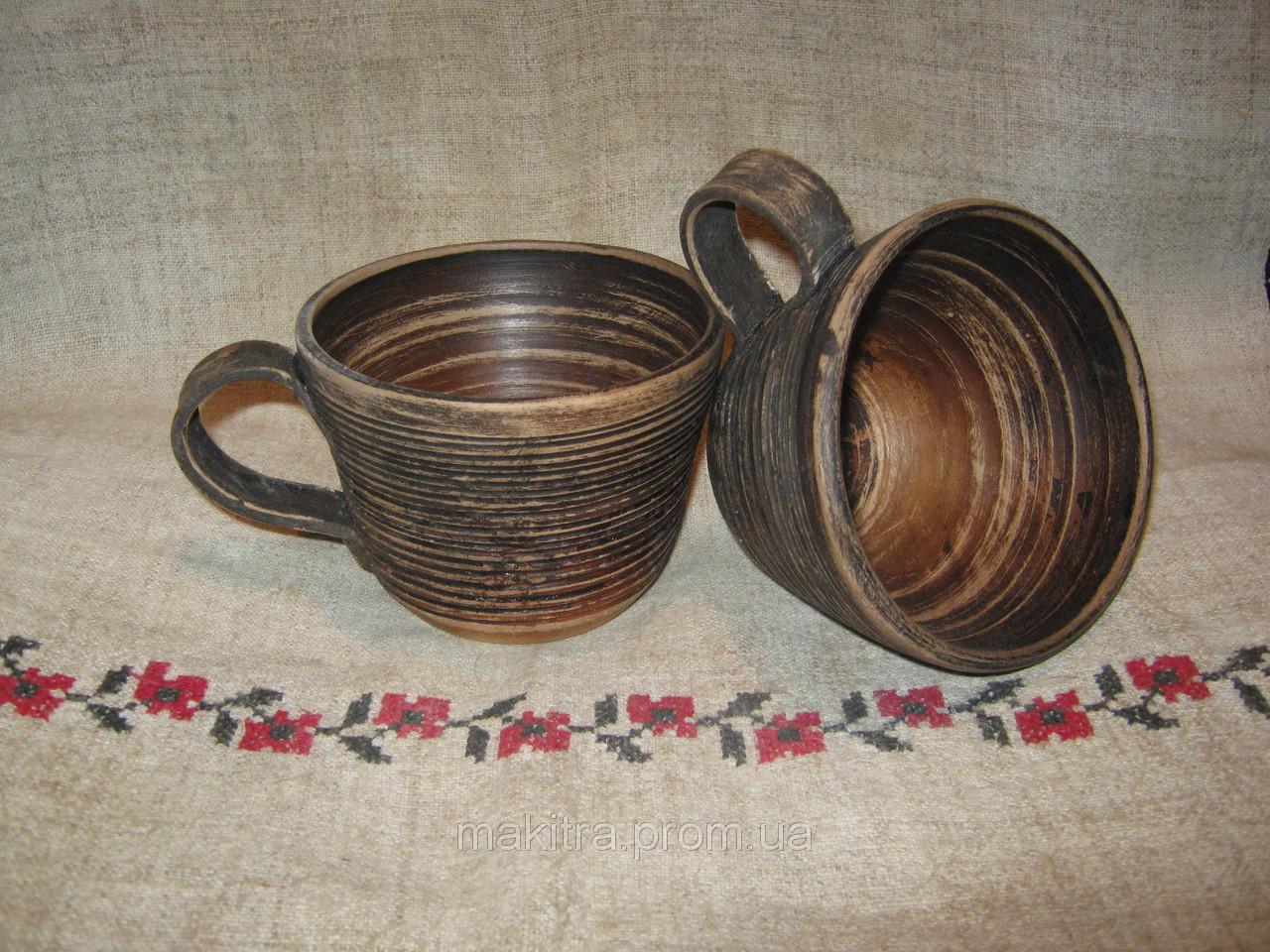 Чашка глиняна  0.25л
