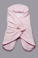 Универсальный конверт-кокон для новорожденной 4 в 1 (для прогулок, на выписку, поддева, спальник) ТМ Модный карапуз