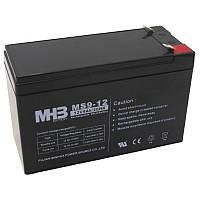 АКБ 9Ач/12В аккумулятор свинцово-кислотный MS9-12 MHB