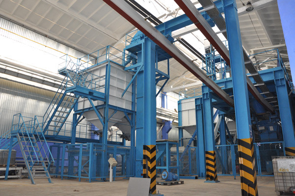 Мини завод по производству тротуарной плитки