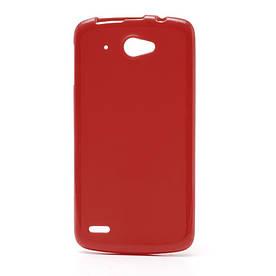 Чехол на Lenovo S920 силиконовый матовый Красный