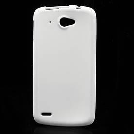 Чехол на Lenovo S920 силиконовый матовый Белый