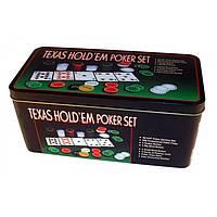 Набор для игры в покер «Texas Holdem Poker Set 200»
