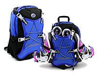 Рюкзак для роликов Wheelers Rollers синий