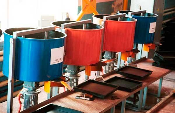Оборудование производства пластиковой плитки