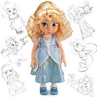 Кукла Золушка (Cinderella) Disney Animators коллекционная серия Дисней -40см., фото 1