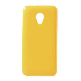 Чехол силиконовый матовый на HTC Desire 700 Dual sim Для телефона, Матовый, Желтый