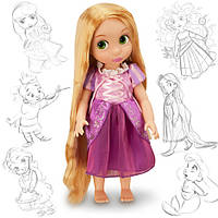 Кукла Рапунцель (Rapunzel) Disney Animators коллекционная серия Дисней -40см., фото 1