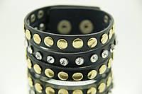 Бижутерия кожаные браслеты с заклепками оптом .679