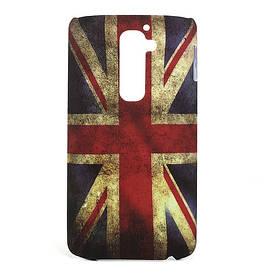 "Чехол пластиковый ""Ретро флаг Англии"" на LG Optimus G2 D802"