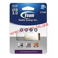 USB накопитель Team 32GB C143 White (TC143332GW01)