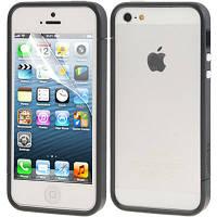Чехол бампер SGP для телефона iPhone SE 5S 5 черный