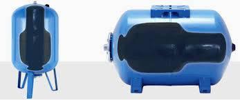 Гидроаккумулятор AQUAsystem объём 50 литров , горизонтальный, фото 2