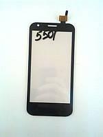 Сенсор (Touch screen) Prestigio 5501 MultiPhone PAP Duo черный