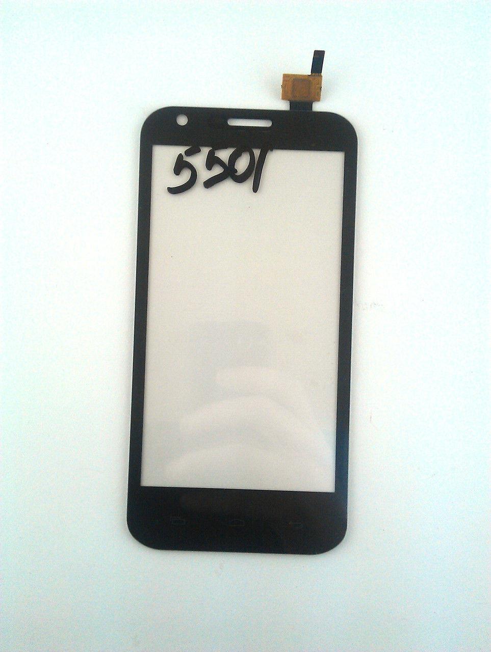 Сенсор (Touch screen) Prestigio 5501 MultiPhone PAP Duo чёрный
