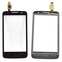 Сенсор (Touch screen) Alcatel 5020D One Touch M Pop черный