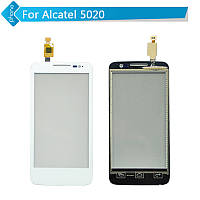 Сенсор (Touch screen) Alcatel 5020D One Touch M Pop белый