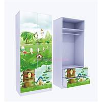 Шкаф с двумя ящиками Нежность 211x90x50