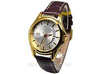 Часы  мужские Q@Q  5Bar на ремешке, классические, модель A436-101y, фото 1