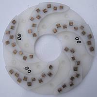 Диск алмазный, полимерный полировать гранит, мрамор, на станках с водой  250x7x73 № 0, 1, 2, 3, 4