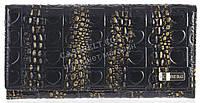 Стильный лаковый женский кожаный кошелек высокого качества ICEBERG art. IC-21 зелено фиолетовый хамелеон