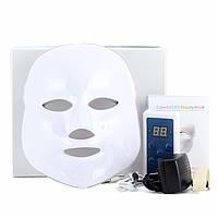 Светодиодная LED-маска для лица 3 цвета