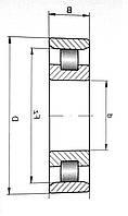 Подшипник 2612 (N2312)