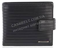 Мужской стильный классический портмоне с натуральной кожи  NINO CAMANI art. NC-1605A черный, фото 1