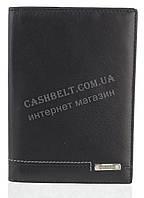 Стильная прочная кожаная обложка для паспорта высокого качества NINO CAMANI art. NC-1730A черный