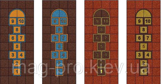 """Резиновая плитка для детской площадки """"Классики"""", фото 2"""