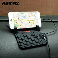 Автомобильная подставка Remax RM-CS101 для зарядки Apple черный
