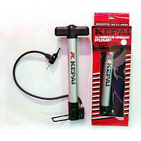 Насос підлоговий ручний для м'ячів, велосипедів KEPAI IT-8620 (пластик, l-30 см)