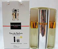 Набор мужских пробников Christian Dior Dior Homme Sport с феромонами + 2 запаски, 3x15 мл