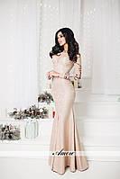 Модное изысканное платье по фигуре