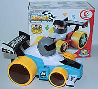Машинка гоночная, звук, свет, танцует, в коробке, фото 1