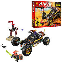 """Конструктор Bela Ninja 10524 (аналог Lego Ninjago 70589) """"Земляной Внедорожник Коула"""" 429 дет"""