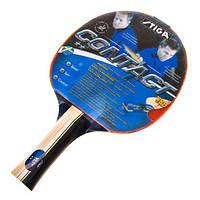 Ракетка для настільного тенісу дублікат STIGA Contact WS    , фото 1