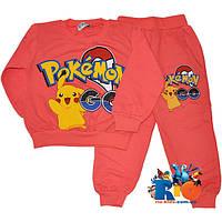 "Костюм детский ""Pokemon"" , трикотаж , для девочки от 1-4 лет"