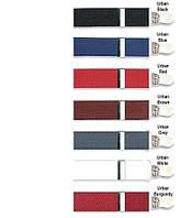 Подтяжки с зажимами цветные, 3,5 см