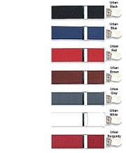 Підтяжки з затискачами кольорові, 2,5 см
