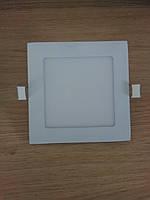 Светильник врезной LED  Downlight  9W 4200K  размер 150*150 мм квадратный  алюминиевый корпус