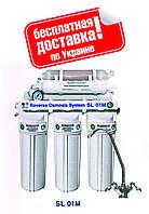 Система обратного осмоса BIO+systems RO-50-SL01M + минерализатор (мем-на Filmtec,  США), без насоса