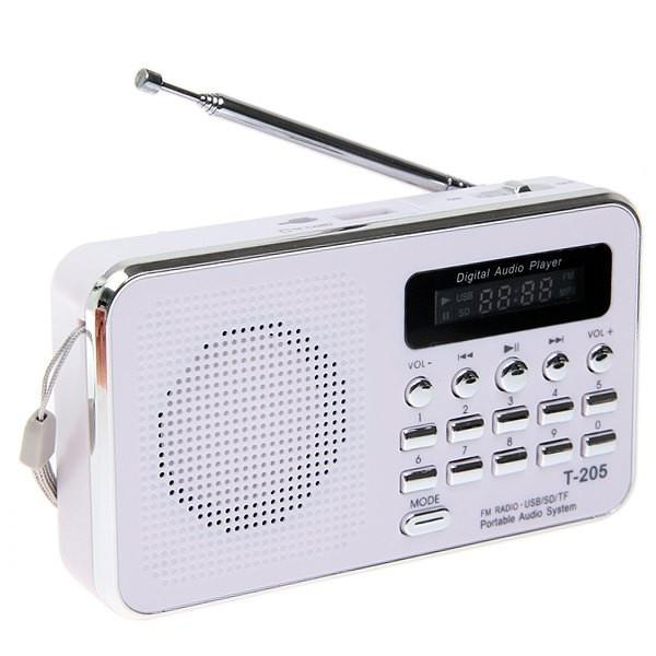 FM радіоприймач T-205 c MP3