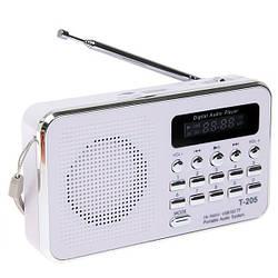 FM радиоприемник T-205 c MP3