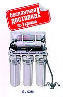 Система обратного осмоса BIO+systems RO-50-SL03M -NEW (мембрана Filmtec пр-во США) c насосом+минерализатор
