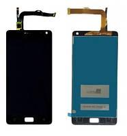 Дисплей (экран) для Lenovo Vibe P1 + с сенсором (тачскрином) Black