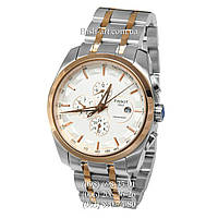 Мужские наручные часы Tissot T-Classic Couturier Automatic Steel Silver-Gold/Gold/White