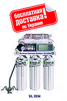 Система обратного осмоса BIO+systems RO-50-SL02M-NEW (мембрана Filmtec 75  (США),  насос+минерал.